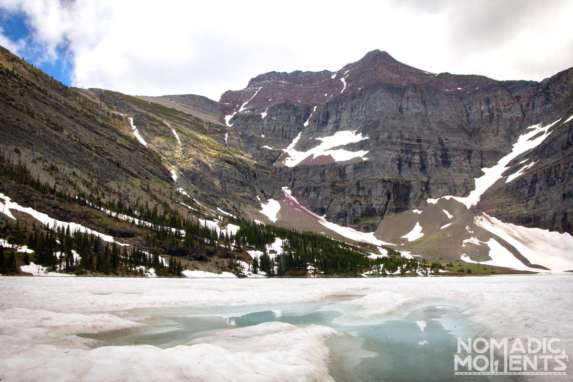 Frozen Crypt Lake