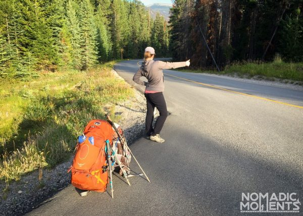 Hitching a Backpacking Ride