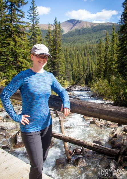 Jennifer's Backpacking Clothes
