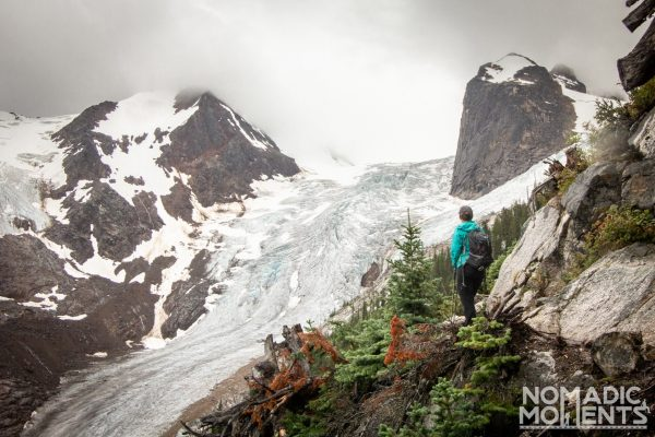 Overlook - Hiking Bugaboo Provincial Park