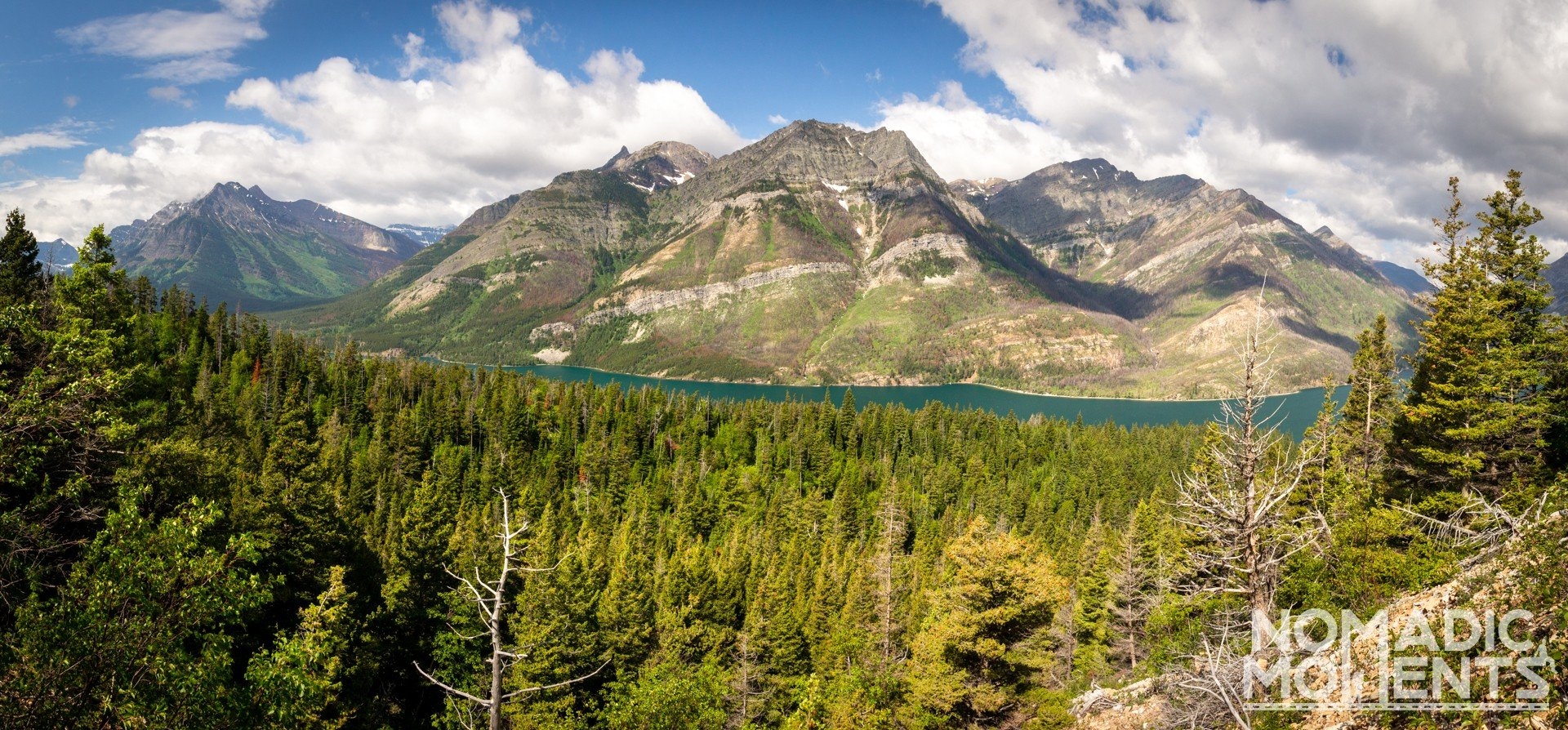 Upper Waterton Lake Overlook