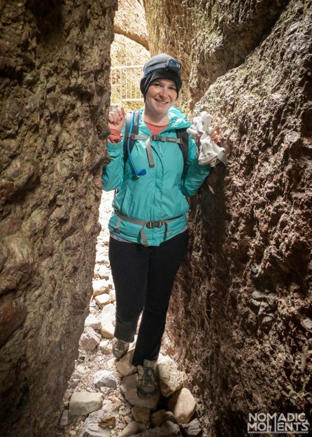Jennifer's Headlamp - Hiking Pinnacles National Park