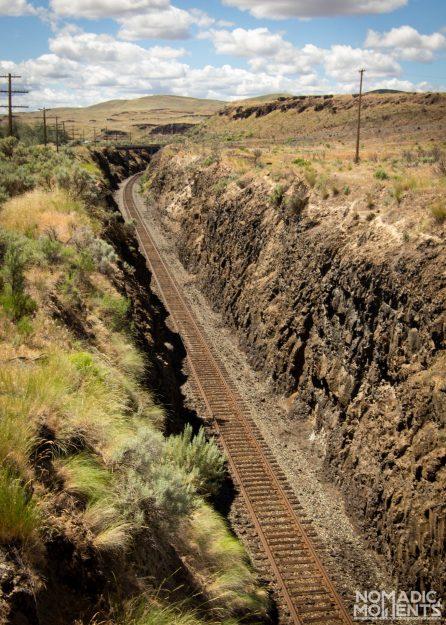 Palouse Train Tracks