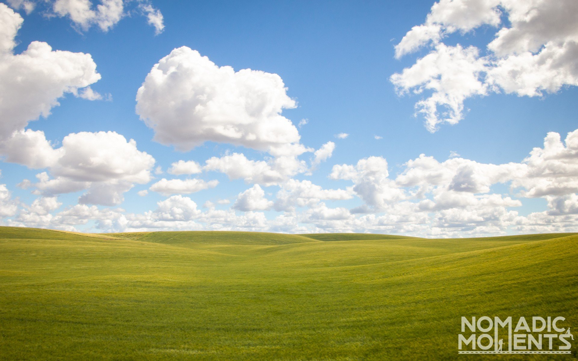 Rolling Farm Land
