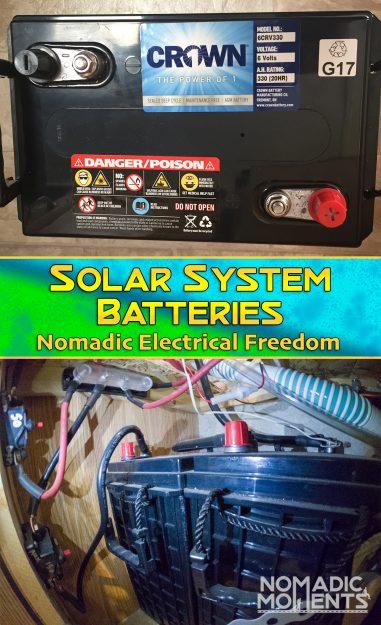 Solar System Batteries