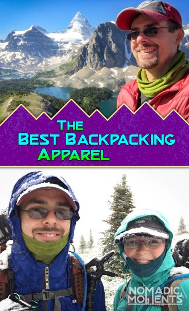 Best Backpacking Apparel Pin