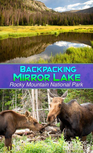 Backpacking Mirror Lake