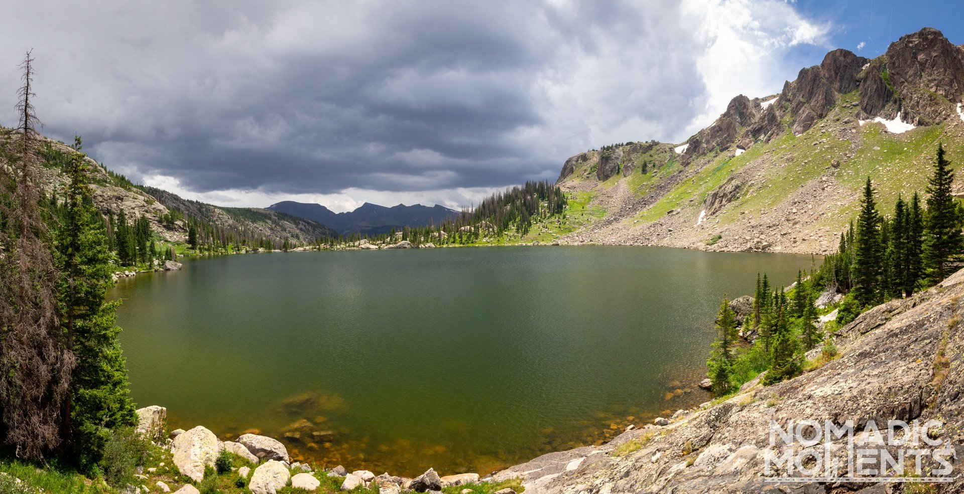 Storm over Mirror Lake