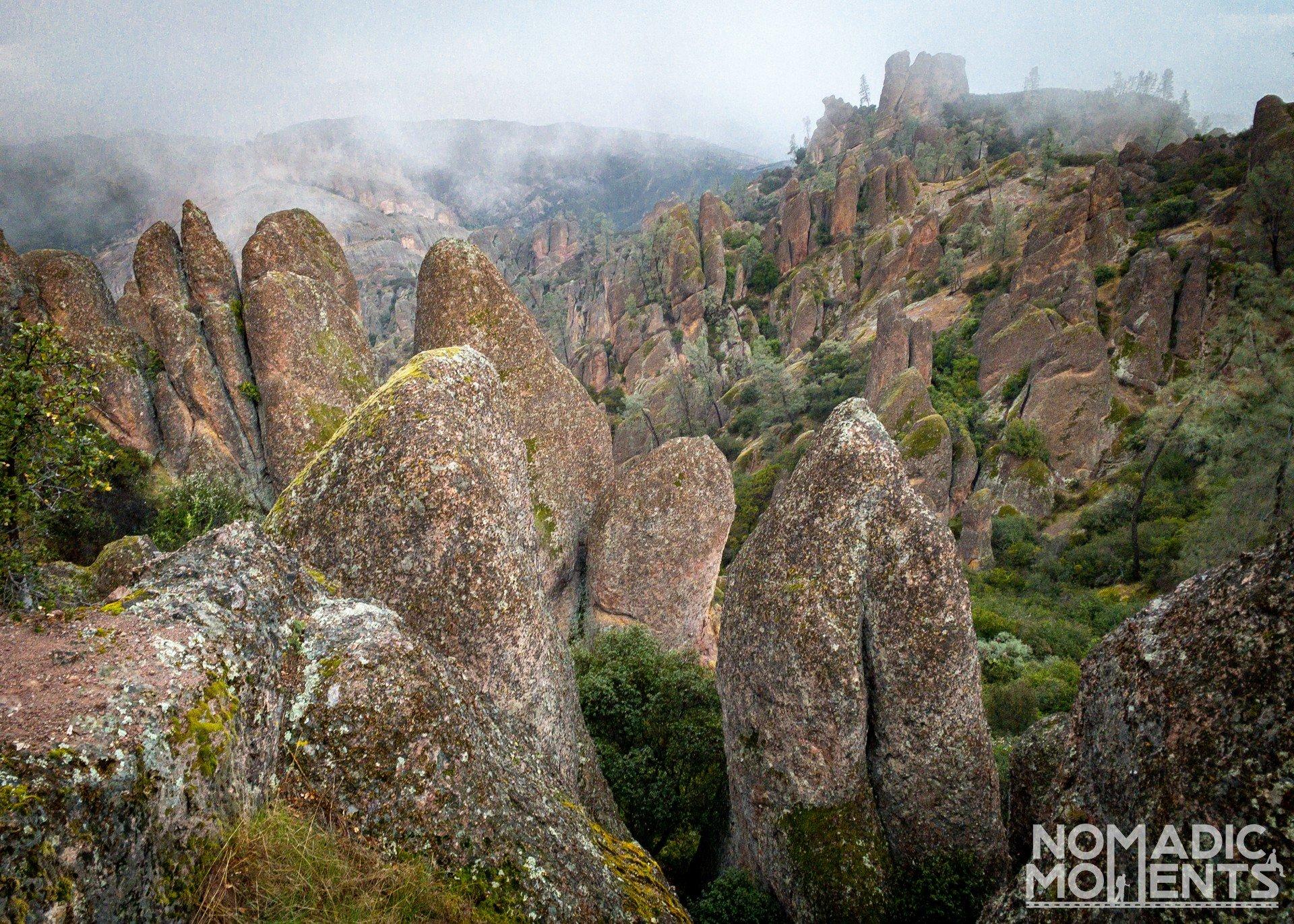 The High Peak Pinnacles
