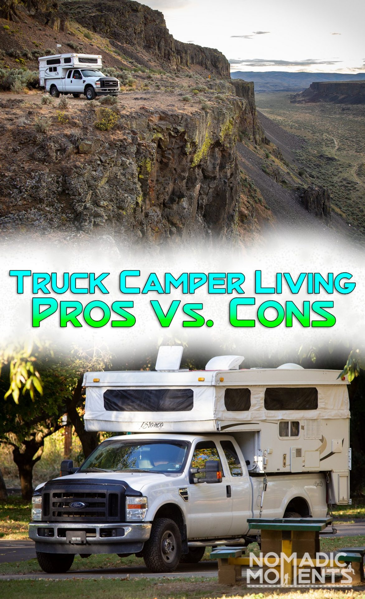 Truck Camper Living Pros Vs Cons Nomadic Moments