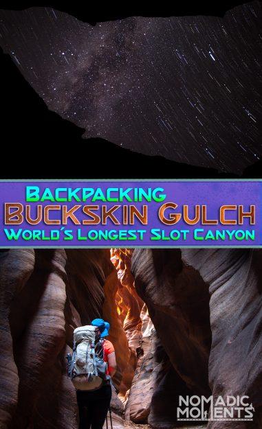 Backpacking Buckskin Gulch