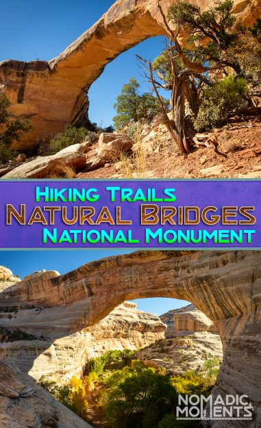 Hiking Natural Bridges