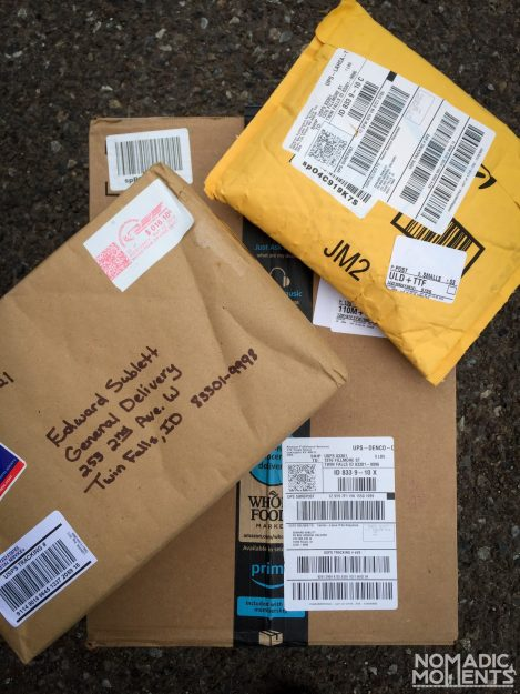 Receive Mail while traveling through the USPS General Delivery service