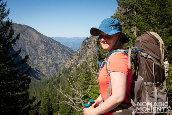 Backpacking The Enchantments Hiker