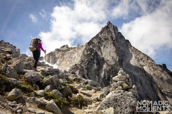 Hiking Aasgard Pass