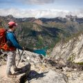 Hiking Aasgard Pass Overlook