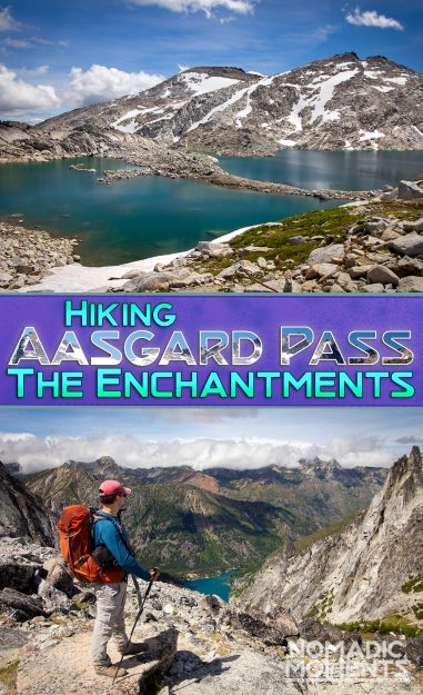 Hiking Aasgard Pass The Enchantments