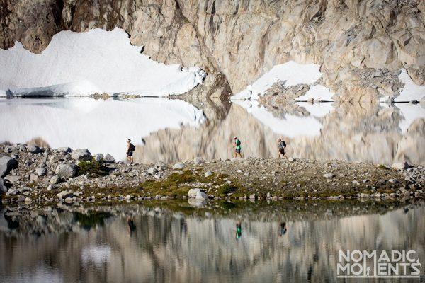Hiking Isolation Lake