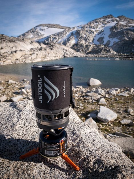 Jetboil in The Enchantments