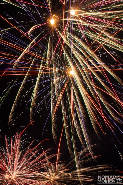 Quinault Beach Fireworks - Highlights of 2020