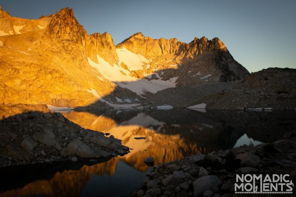Sunrise on Dragontail Peak