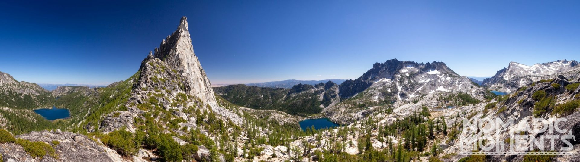 The Enchantments from Prusik Pass