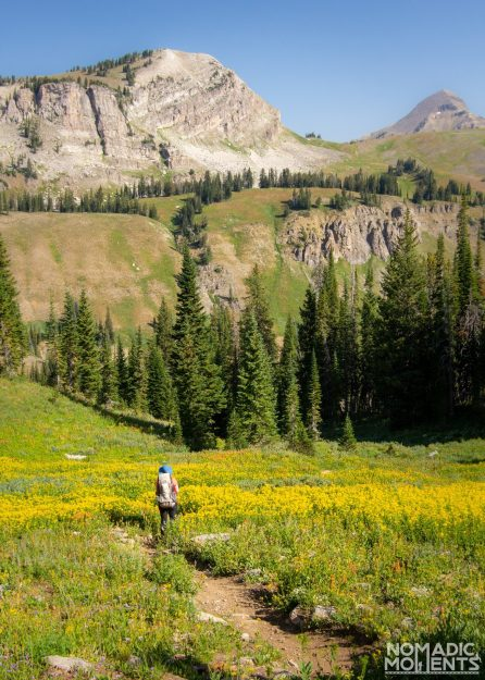 Backpacking the Teton Crest Trail