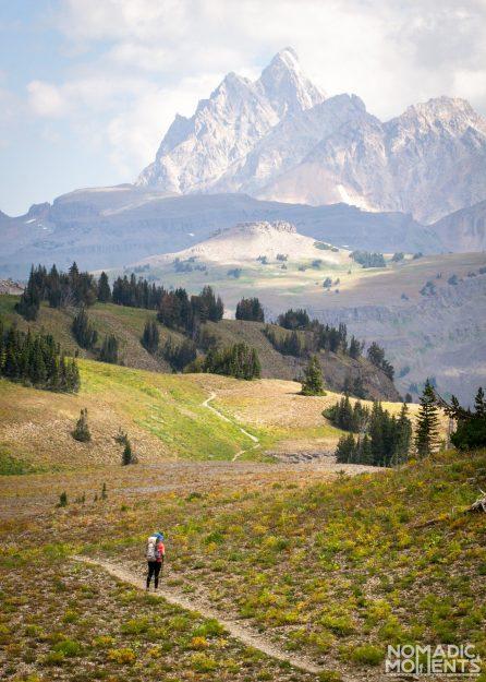 Backpacking the Teton Crest Trail - Fox Creek Pass