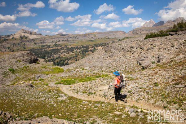 Backpacking the Teton Crest Trail - Meek Pass