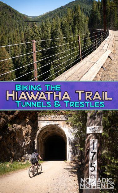 Biking the Hiawatha Trail