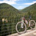 Biking the Hiawatha Trail Mountains