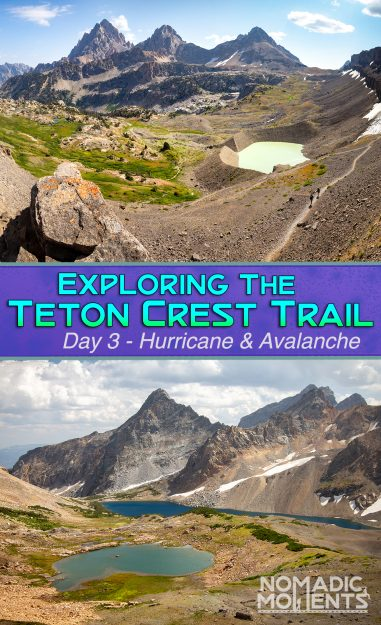 Exploring the Teton Crest Trail - Day 3