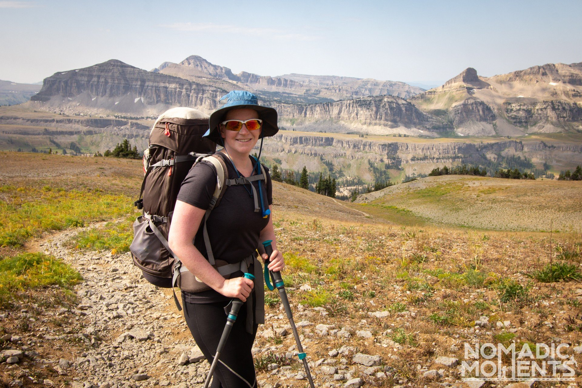 Exploring the Teton Crest Trail - Hurricane Pass