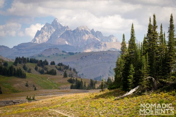 Grand Teton from Fox Creek Pass
