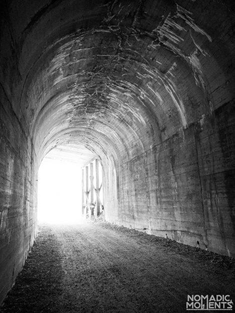 Hiawatha Trail Tunnel