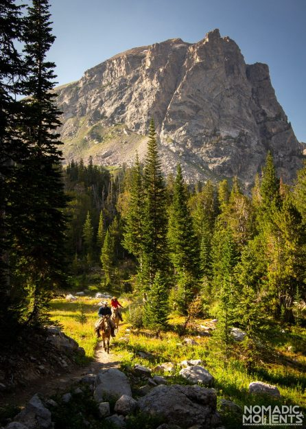 Horse Camping - Exploring the Teton Crest Trail