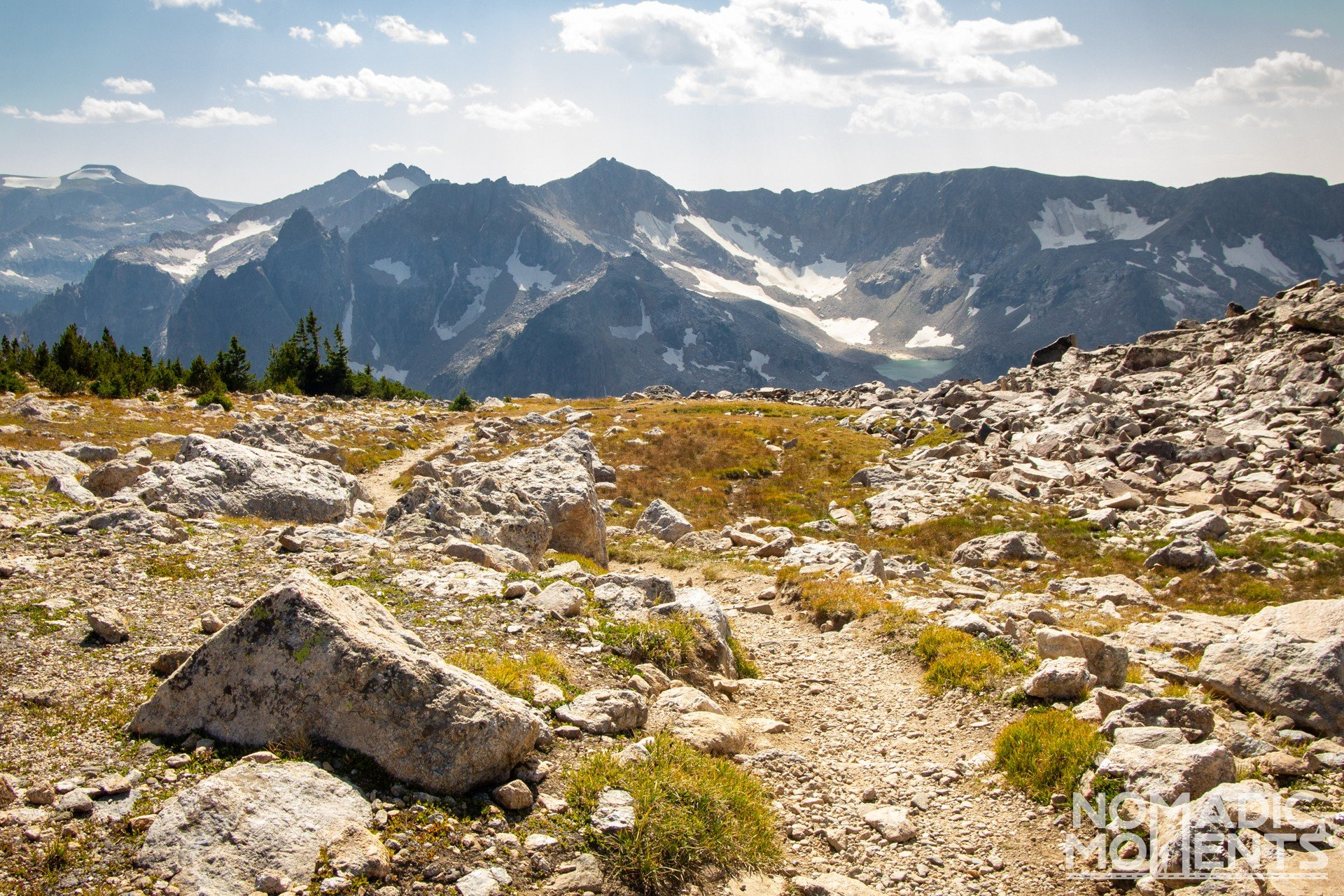 Mica Lake - Hiking Paintbrush Divide
