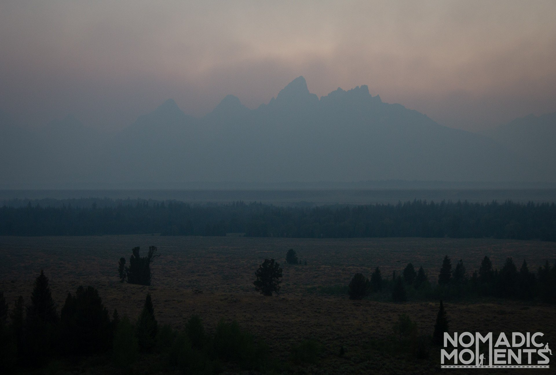 Smoky Teton Sunset