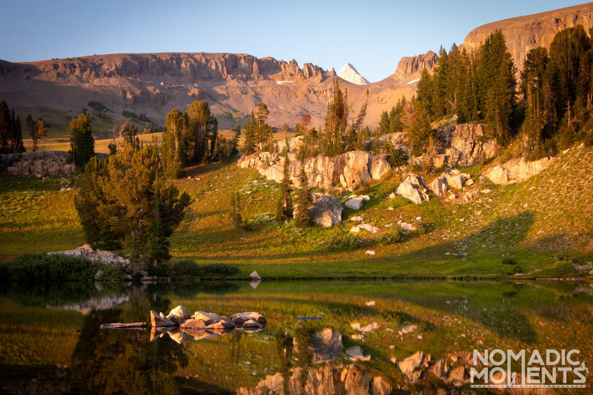 Sunset Lake - Backpacking the Teton Crest Trail