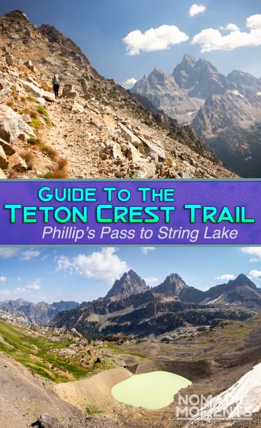 Teton Crest Trail Guide - Cover