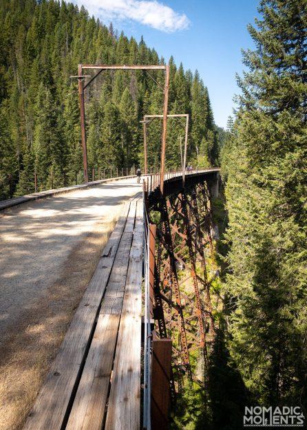 The Hiawatha Rail Trestles