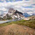 Mount Redoubt and Ptarmigan Lake