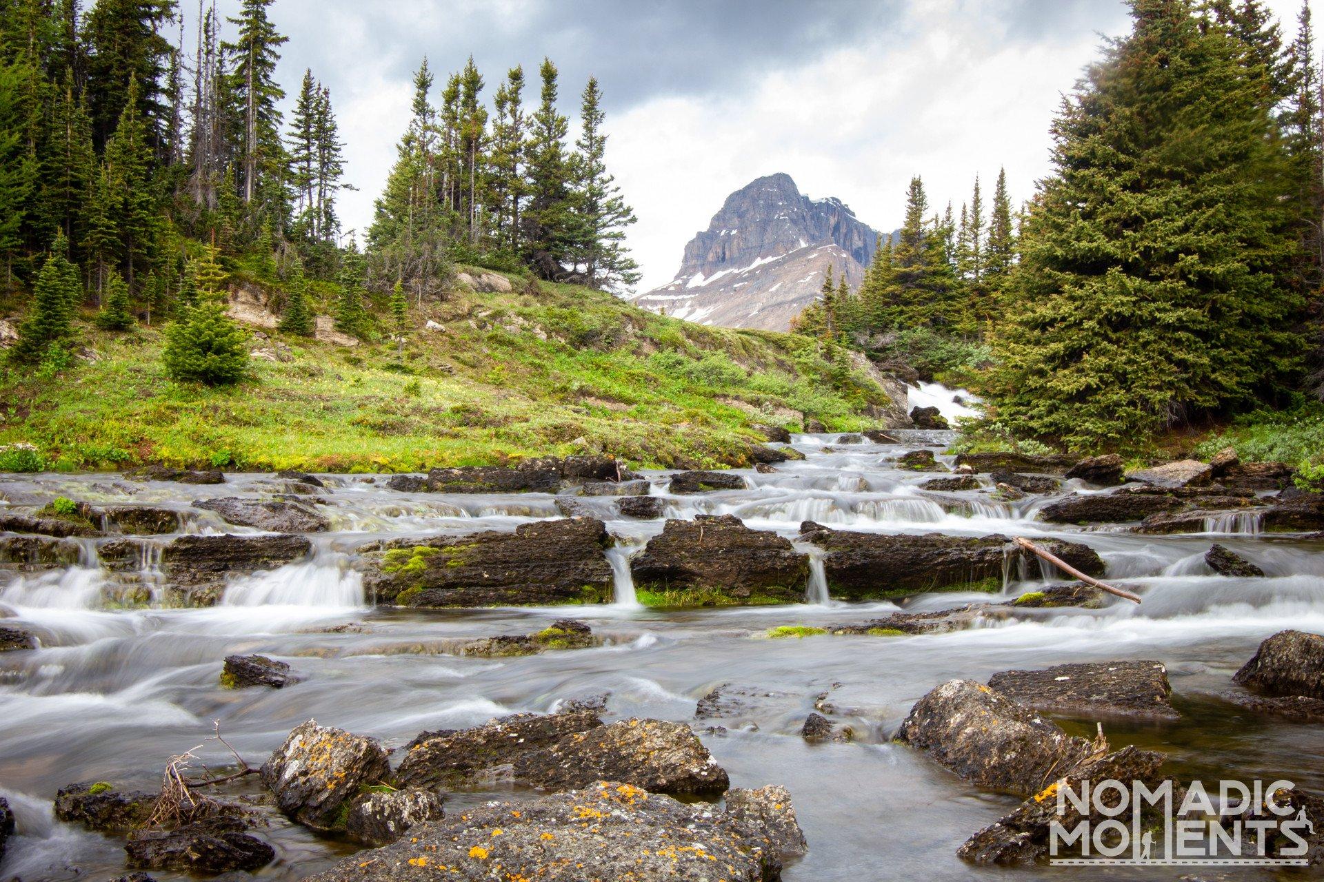 Ptarmigan Peak Over Baker Creek
