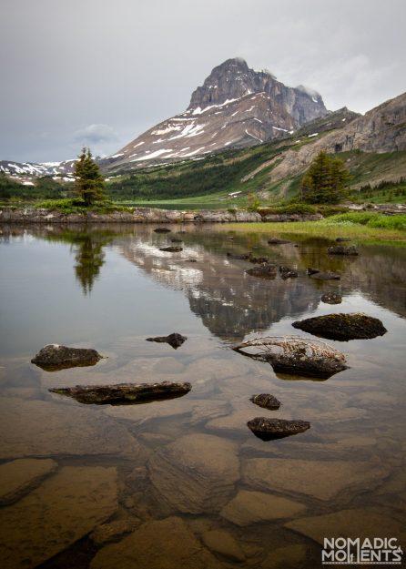 Ptarmigan Peak above Baker Lake