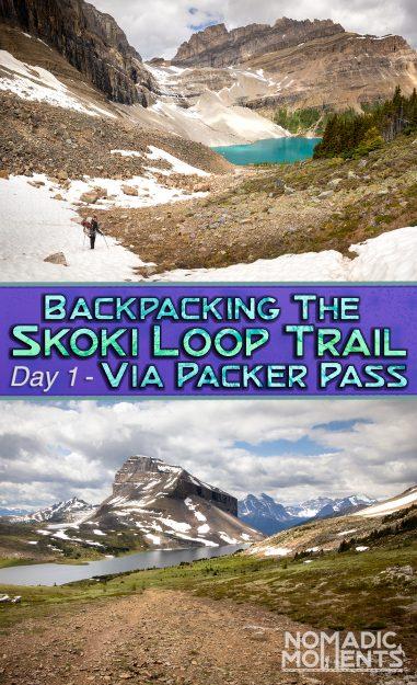 Skoki Loop via Packer Pass - Day 1
