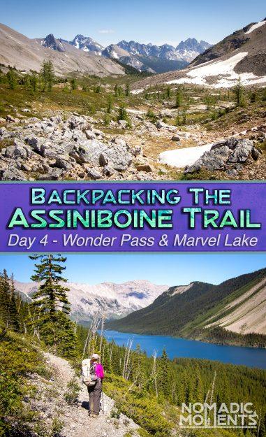 Assiniboine via Wonder Pass - Day 4
