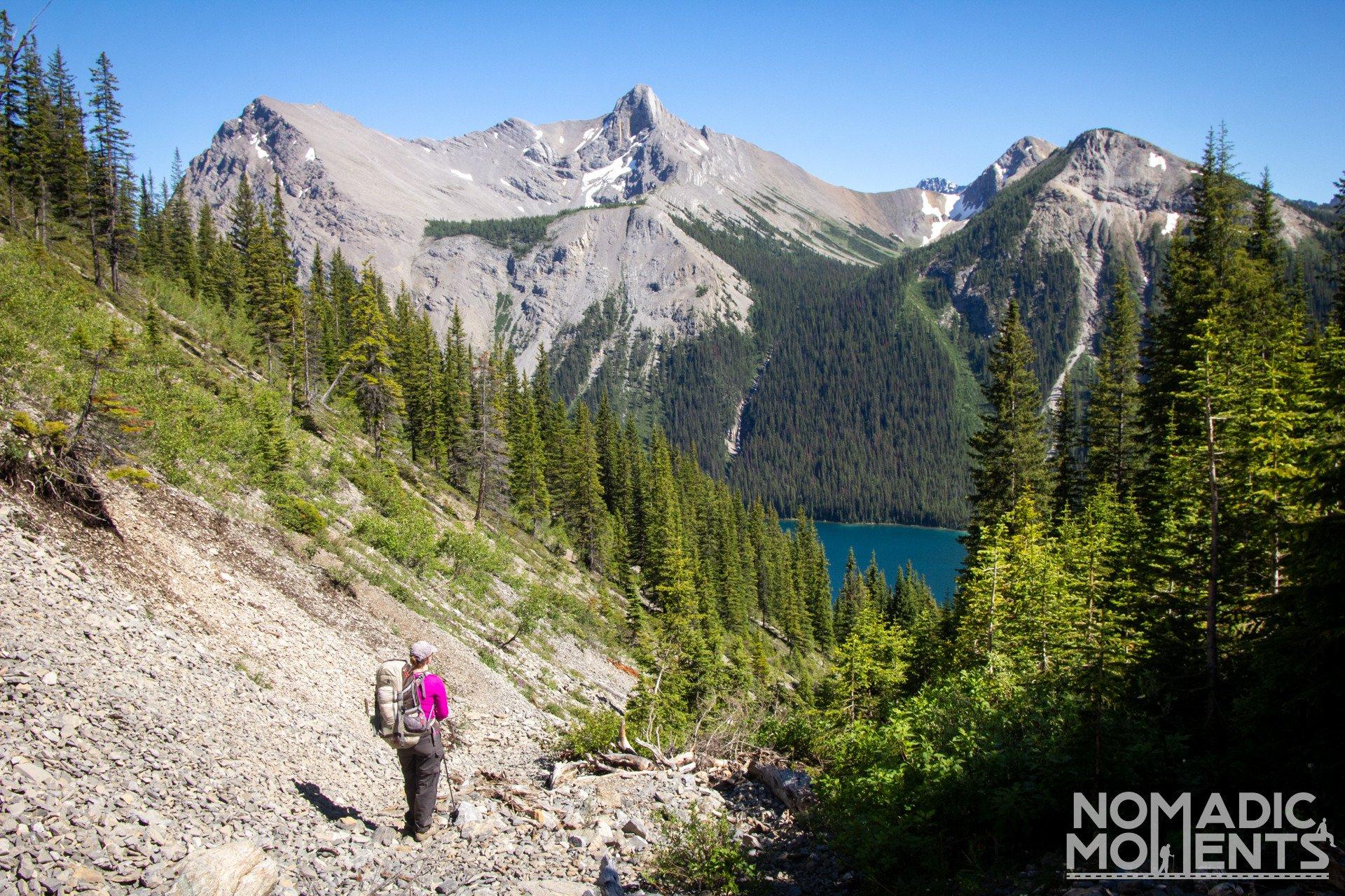 Backpacking Assiniboine via Wonder Pass