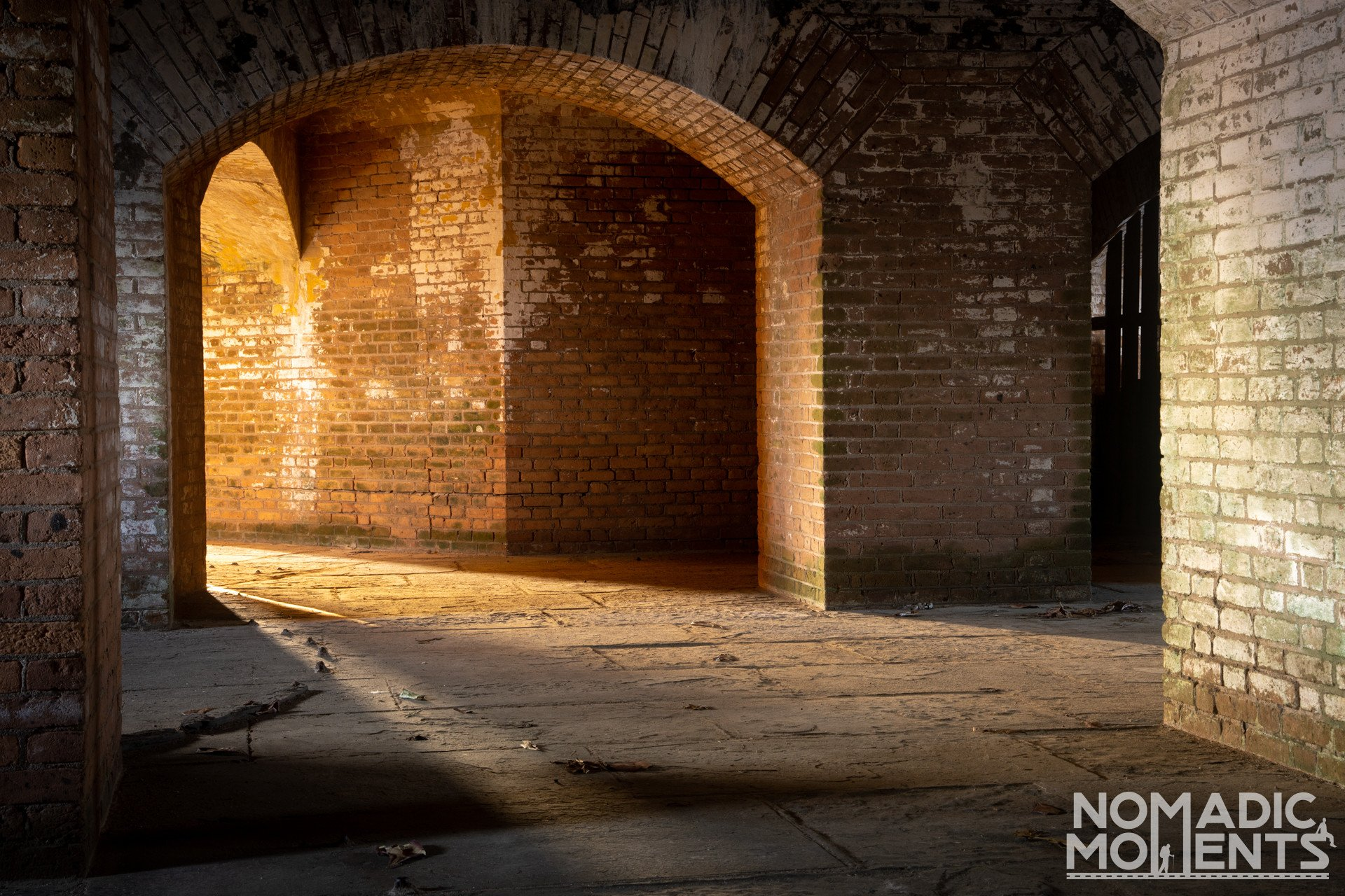 Depths of Fort Jefferson