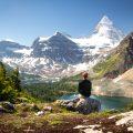 Exploring Mount Assiniboine
