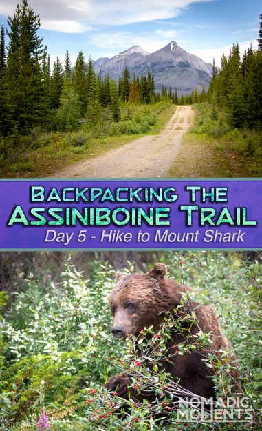 Hiking the Assiniboine Trail - Day 5